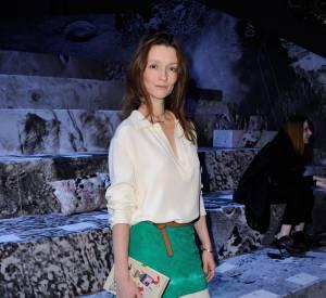Audrey Marnay au défilé H&M Automne-Hiver 2015/2016.