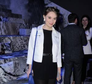 Deborah François au défilé H&M Automne-Hiver 2015/2016.