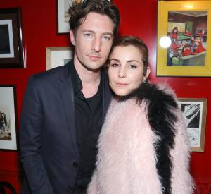 Benn Northover et Noomi Rapace lors de la soirée Thierry Lasry x Fendi à Paris le 9 mars 2015.