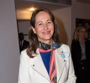 """Ségolène Royal est venir soutenir l'initiative """"My positive impact"""" hier soir."""