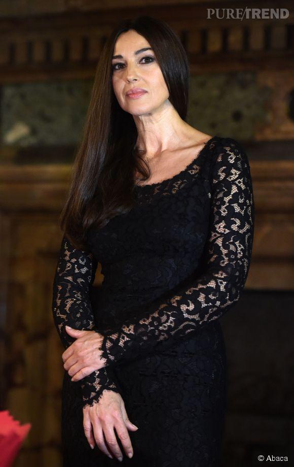 Monica Bellucci, toujours aussi belle et sexy à 50 ans.