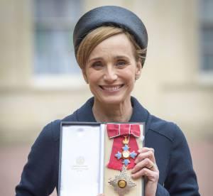 Kristin Scott Thomas, lady chic pour rencontrer la reine
