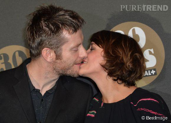 Emma de Caunes et son mari Jamie Hewlett à la soirée des 30 ans de Canal+.