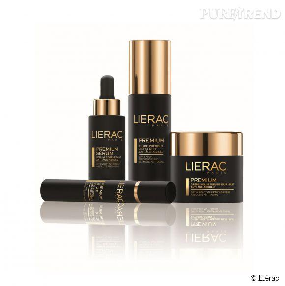 Premium, la gamme anti-âge haut de gamme de Liérac.