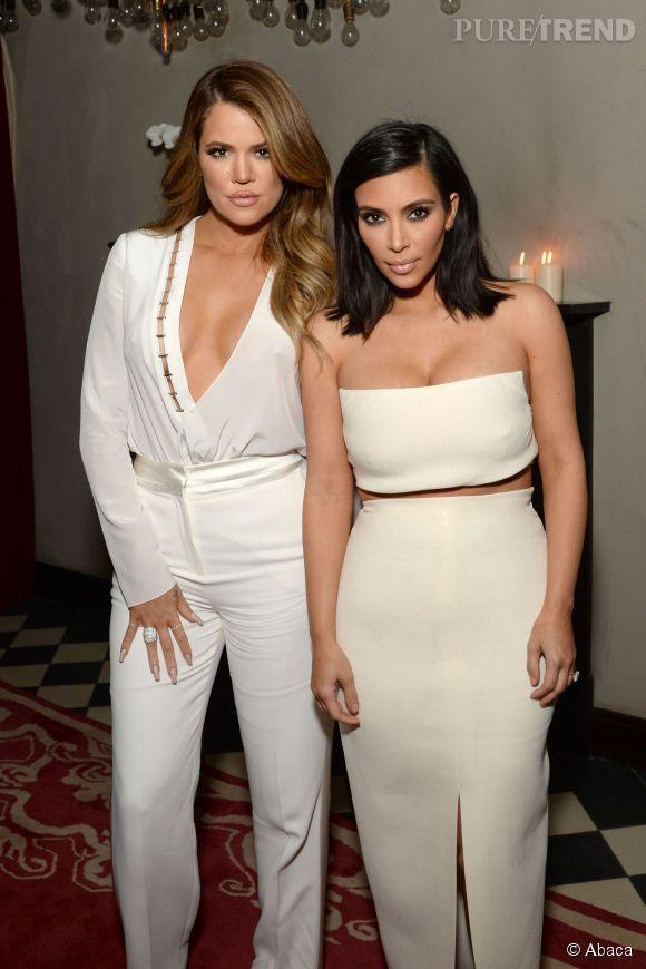 Khloe Kardashian et Kim en concurrence