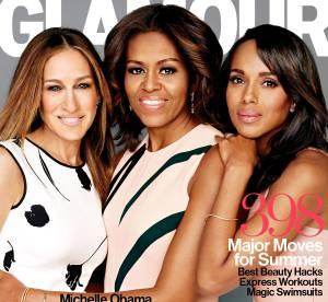 Michelle Obama : cover girl engagée pour Glamour, avec SJP et Kerry Washington