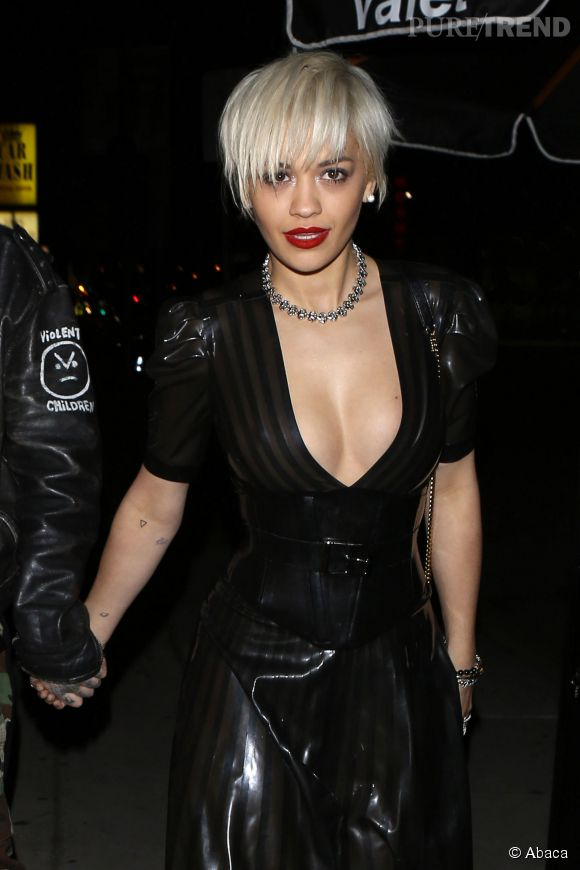 Rita Ora, une habituée des tenues hot.