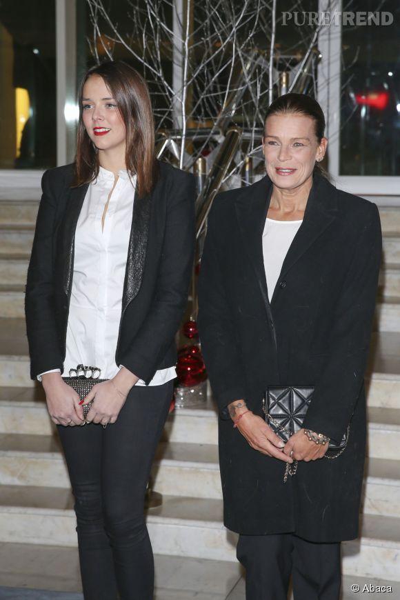 Stéphanie de Monaco et sa fille Pauline Ducruet.