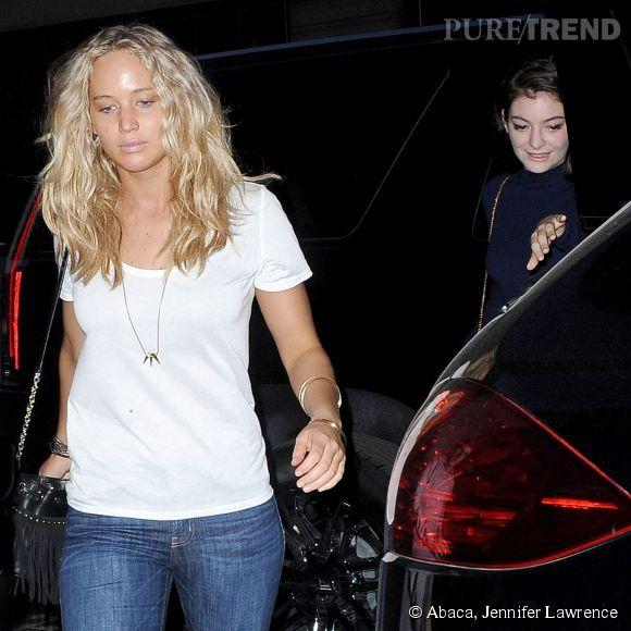 Jennifer Lawrence en virée avec Lorde à New York.