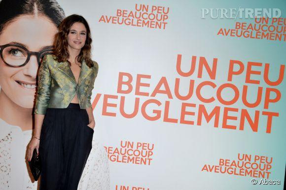 """Clovis Cornillac a choisi Mélanie Bernier pour """"un peu, beaucoup, aveuglément""""."""
