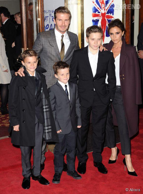 La famille Beckham : une famille (presque) comme les autres !