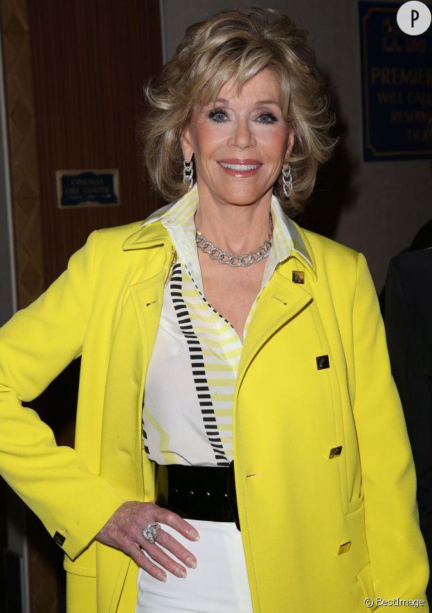 Jane Fonda a été la femme de Pierre Richard au cinéma en 2012. A 77 ans, elle est sublime.