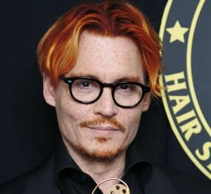 Johnny Depp en roux, ce n'est pas forcément une mauvaise idée.