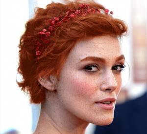 Keira Knightley, jolie rousse au look champêtre parfait pour le printemps. À tester en vrai ?