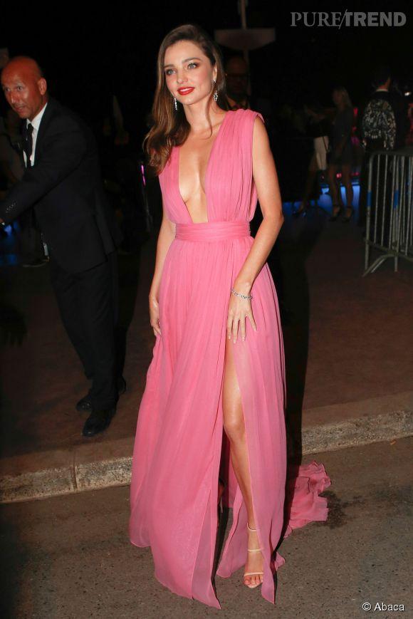 Miranda Kerr est à Cannes en tant qu'égérie Magnum.