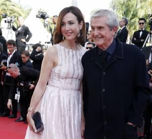 Elsa Zylberstein a fait honneur aux frenchies en accompagnant Claude Lelouch sur le tapis rouge dans une robe signée Zuhair Murad.