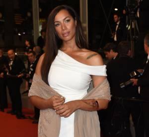 Gros flop pour la chanteuse Leona Lewis, qui n'a pas choisi la meilleure coupe pour mettre sa silhouette en valeur samedi 16 mai 2015 au Festival de Cannes...