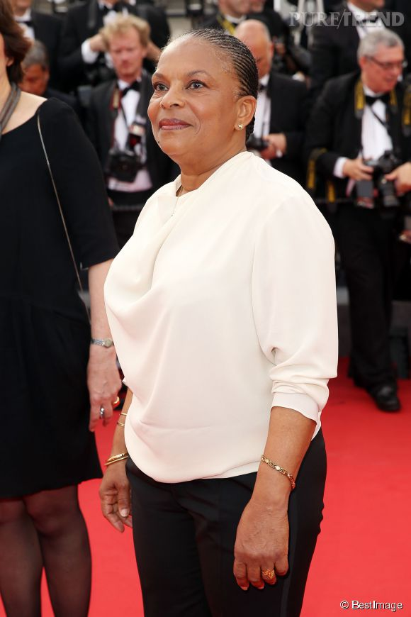 Christiane Taubira s'est rendue mercredi 13 mai au Festival de Cannes 2015.