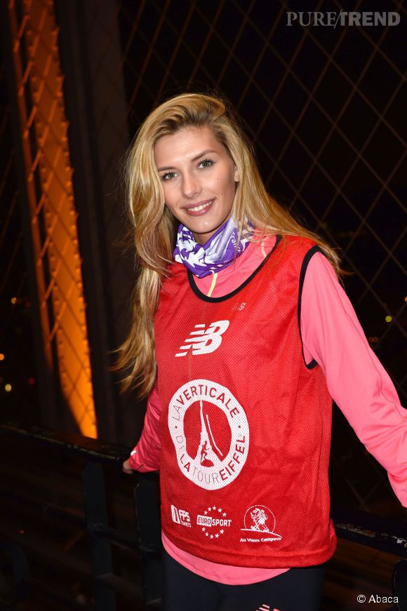 Miss France 2015 Camille Cerf, sportive et courageuse, a participé pour la première fois à Fort Boyard.