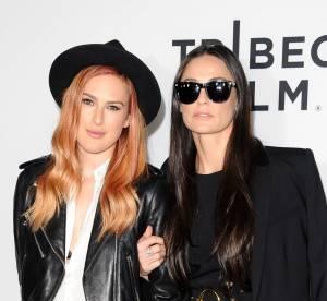 Rumer Willis et Demi Moore, deux soeurs jumelles sur Twitter