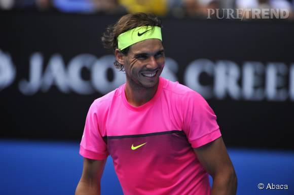 Rafael Nadal, le joueur de tennis le plus sexy du circuit selon les inscrites sur Gleeden.