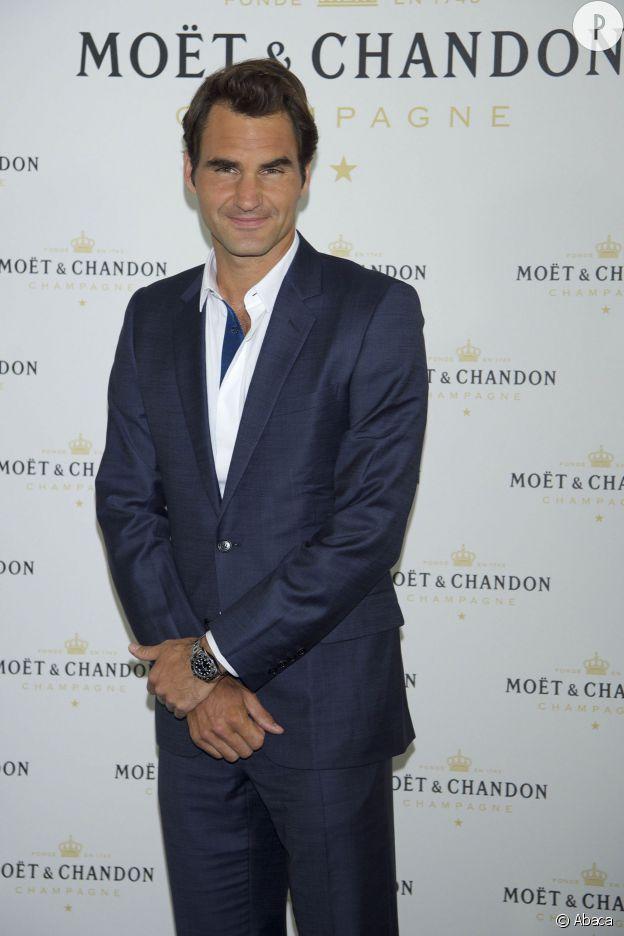 Roger Federer, 3e du classement.