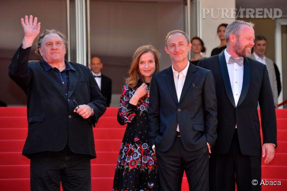 Gérard Depardieu est un habitué du festival de Cannes.