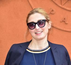 Julie Gayet : sportive chic à Roland Garros après sa victoire à Cannes