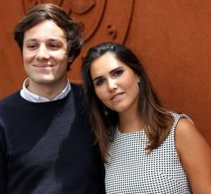Joyce Jonathan : ravissante brunette à Roland Garros, avec le chanteur Vianney