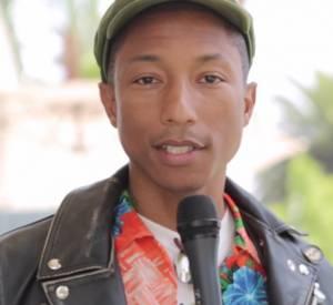 "Pharrell Williams a rendu le public du Festival Mawazine ""Happy""."