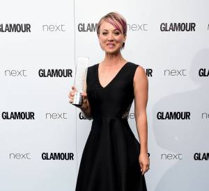 Kaley Cuoco-Sweeting aux Glamour Women of The Year Awards.