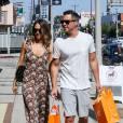 Jessica Alba et son mari en pleine séance de shopping à LA.