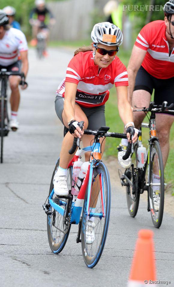 Pippa Middleton ne dit jamais non à un peu d'exercice.