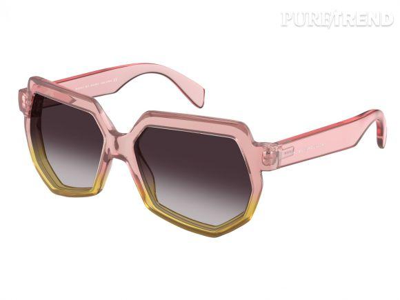 Marc Jacobs a choisi des couleurs acidulées pour sa nouvelle collection de lunettes Marc by Marc Jacobs.