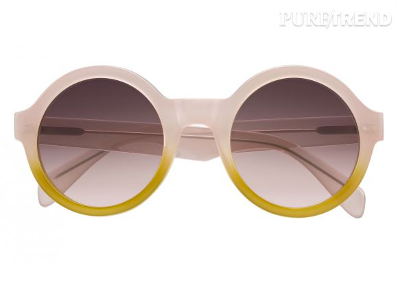 Les lunettes rondes, idéales pour un look rétro.