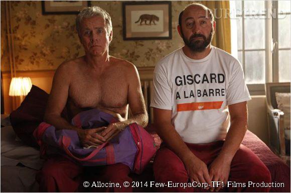 Kad Mérad et Franck Dubosc sont transportés en 1986, la veille des résultats du bac.