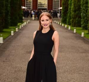 Jessica Chastain divine apparition à Kensington Palace