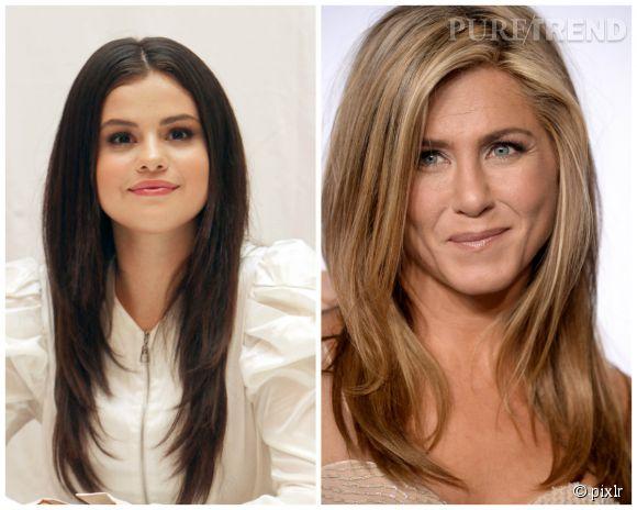 Jennifer Aniston chouchoute Selena Gomez.