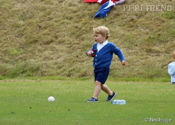 Le prince George a boosté les ventes des crocs.