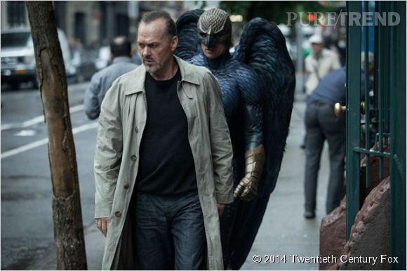 Michael Keaton (Riggan Thomson) court après sa gloire passée.