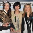 Annelise, Clotilde et Elodie Hesme, trois soeurs et trois comédiennes.