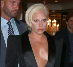 Lady Gaga, à moitié nue dans les rues de New York