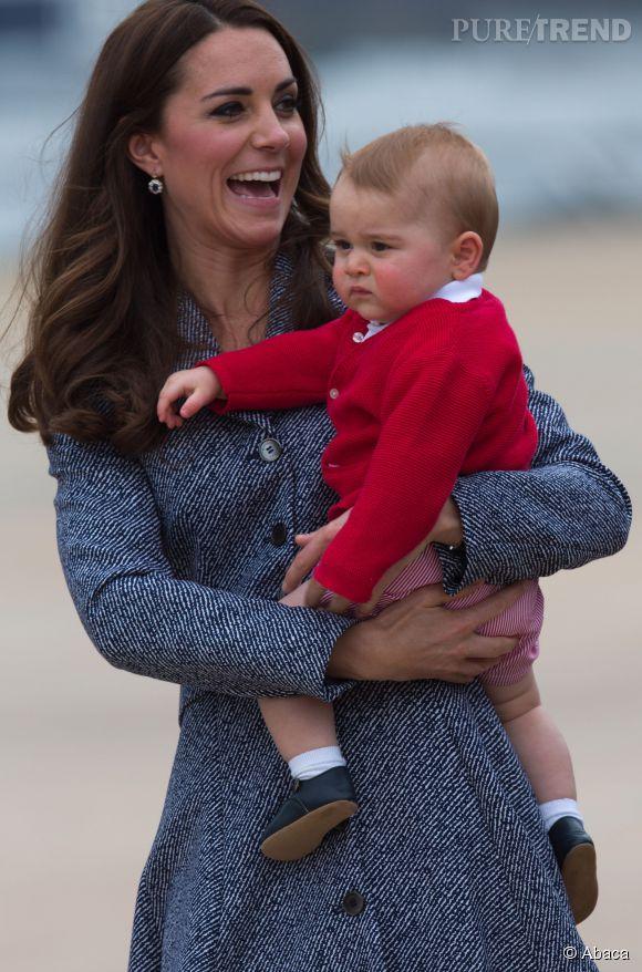 George vole la vedette à Kate Middleton !
