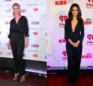 Alexandra Lamy vs Selena Gomez : la combinaison pantalon sexy
