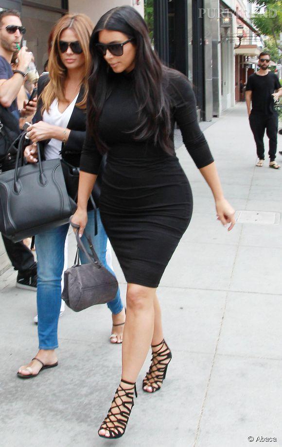 Kim Kardashian est une grande fan du modèle de chaussures que porte Brandon Cohen sur la vidéo. Même enceinte, elle ne semble pas souffrir.