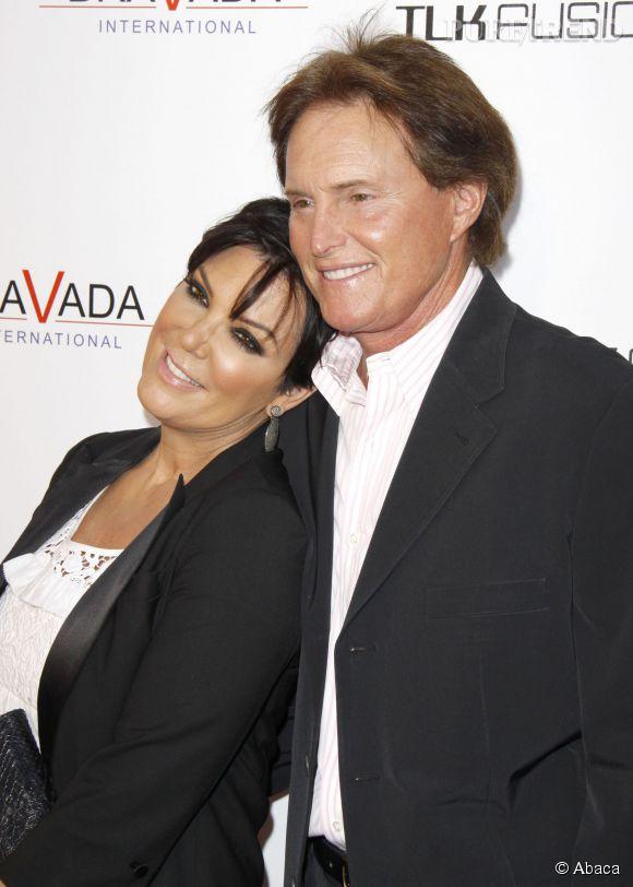 Kris Jenner et Bruce Jenner au temps du bonheur.