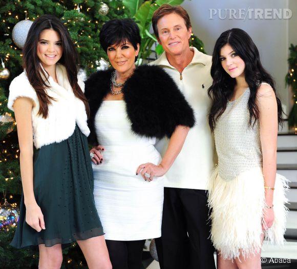 Kris Jenner a eu deux filles avec Bruce : Kendall et Kylie.