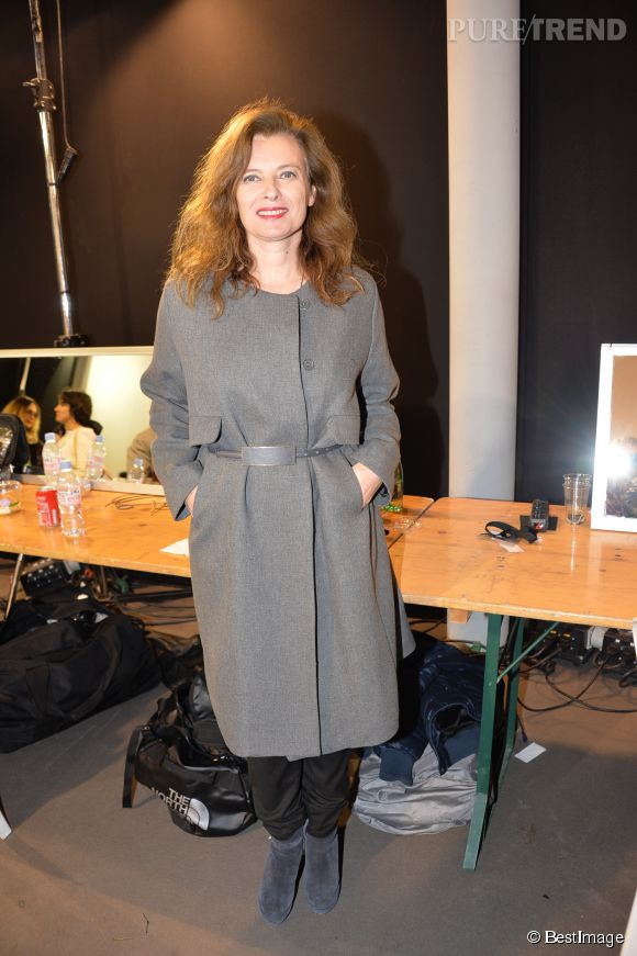 Niveau mode, Valérie Trierweiler fait aujourd'hui confiance à la marque Paul & Joe.