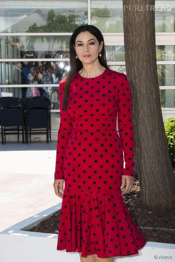 Monica Bellucci pose encore une fois pour Dolce & Gabbana.