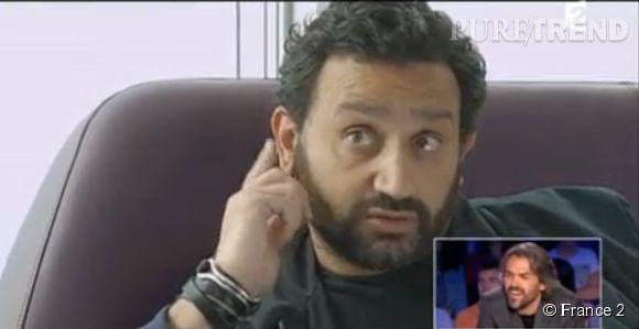 Cyril Hanouna dans le sketch de Nicola Bedos pour Aymeric Caron